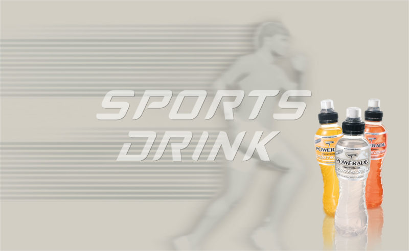 3 bottles for a sporty Hallelujah – Powerade Sportsdrink